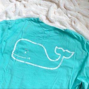 Vineyard Vines Men's Long Sleeve Pocket Tee - Mint